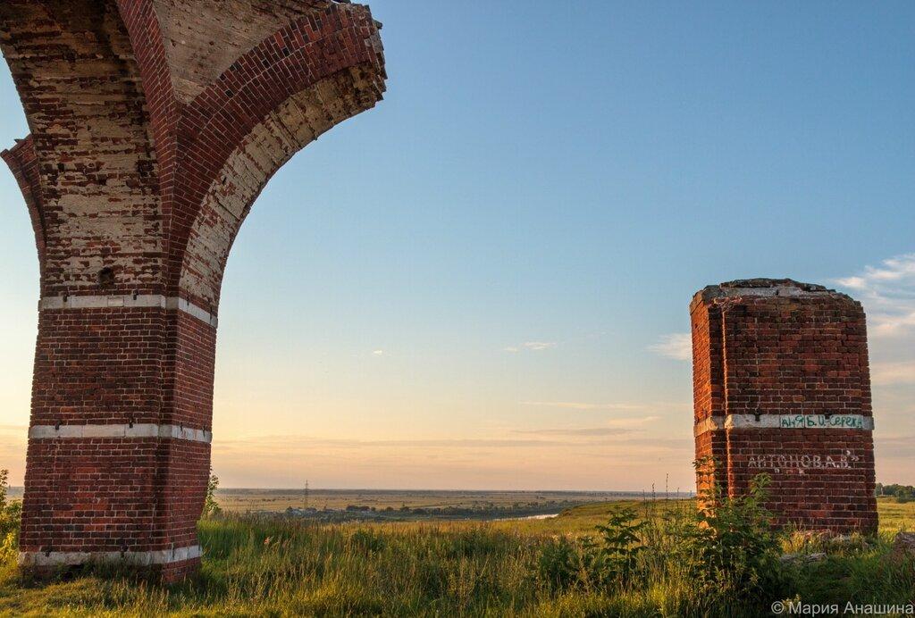 Руины церкви Бориса и Глеба