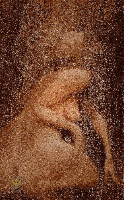 Четыре разных женских образа- Времена года! Художник  Попков Эдуард Николаевич