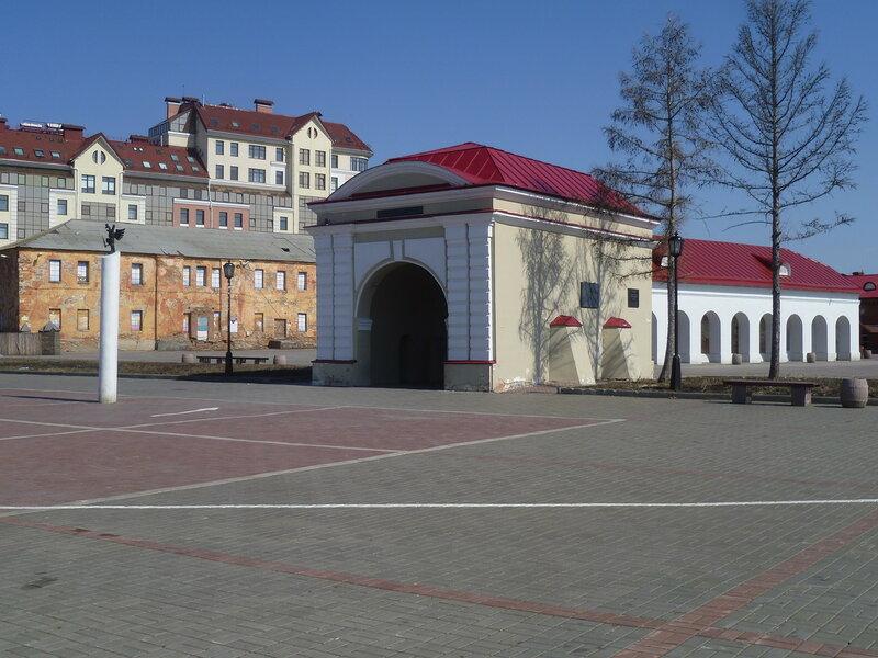 Омск, Тобольские ворота (Omsk, Tobolsk Gate)