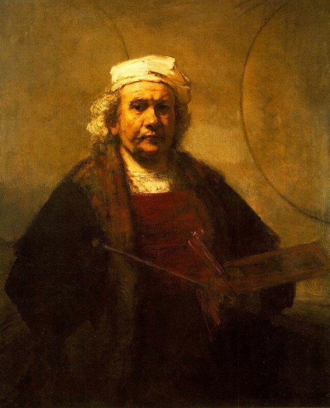 Рембрандт, автопортрет, 1661 г., холст, масло, 114х91 см.