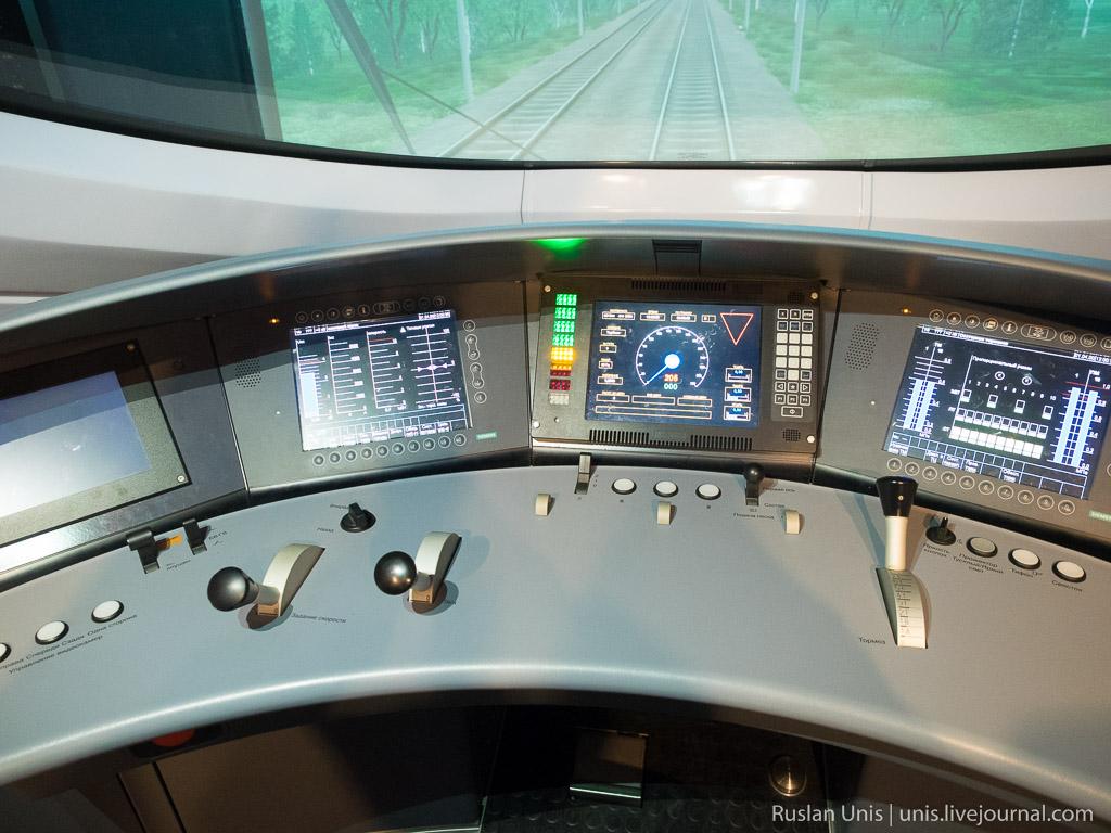 Как управлять поездом Сапсан