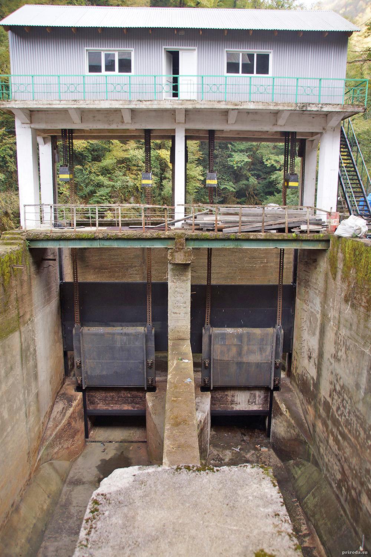 Шлюзы ГЭС