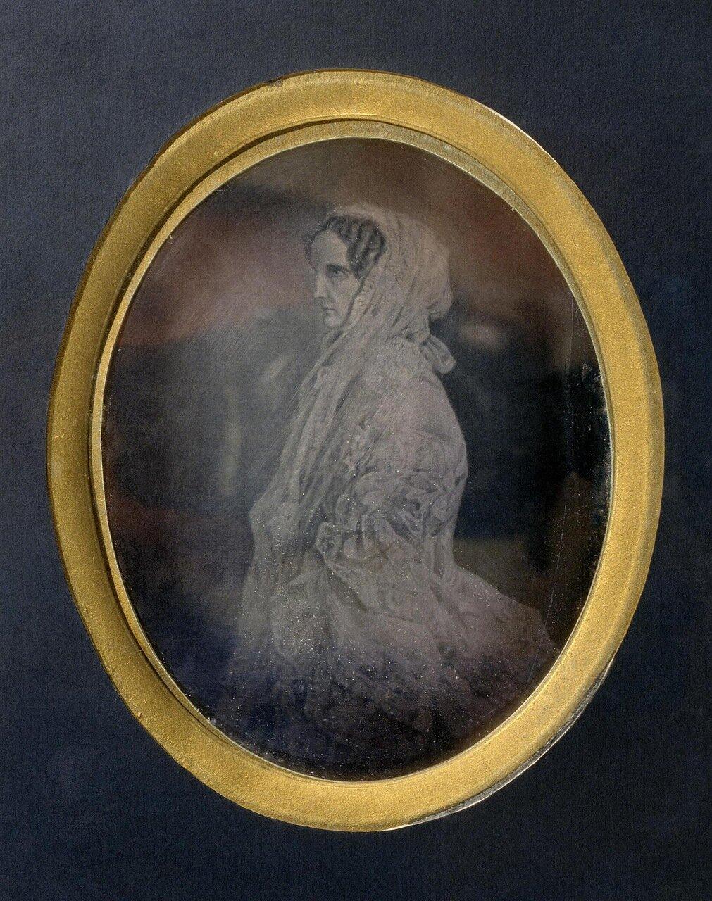 Портрет императрицы Александры Федоровны. 1850-е