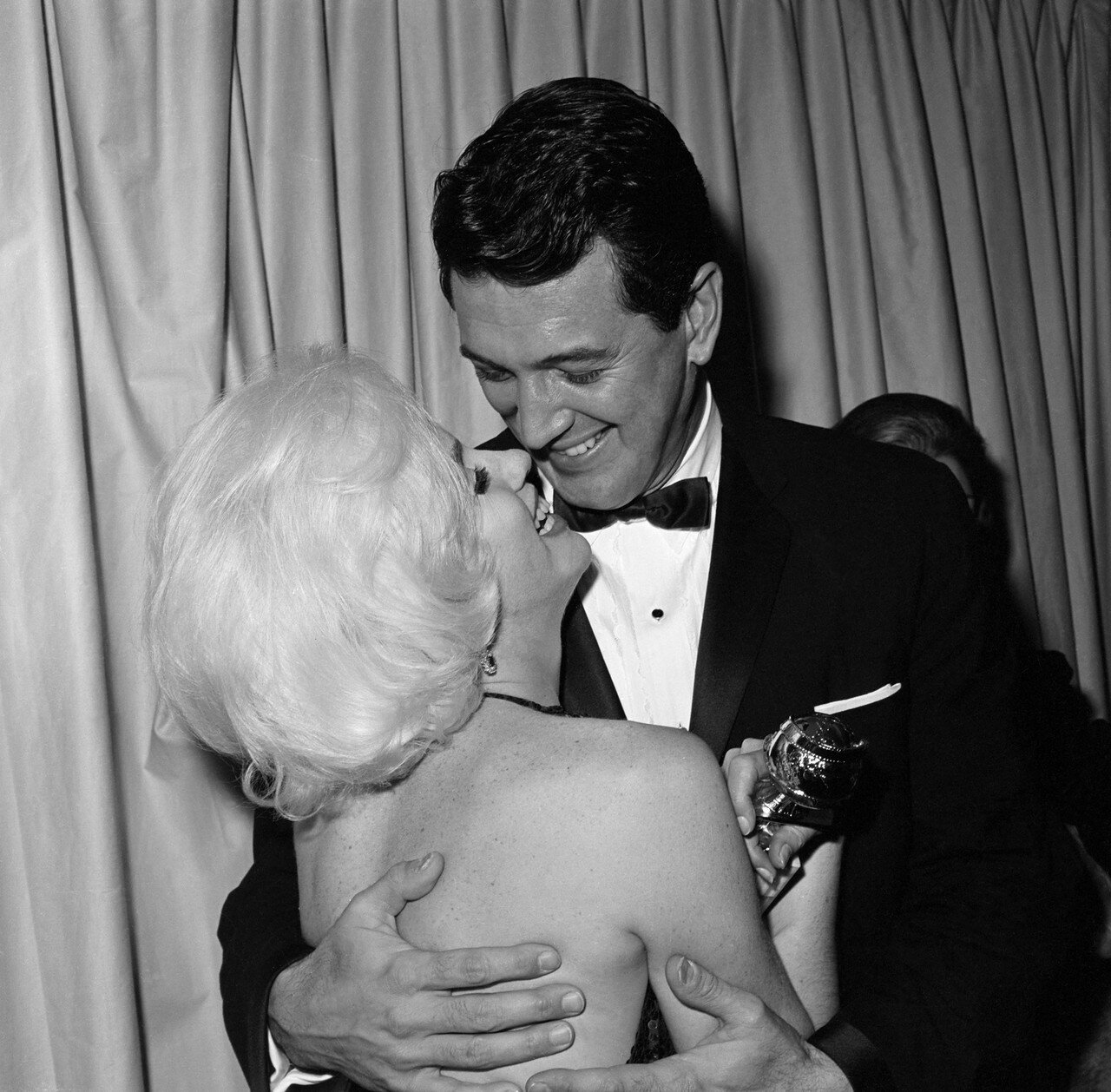 Marilyn Monroe with Rock Hudson