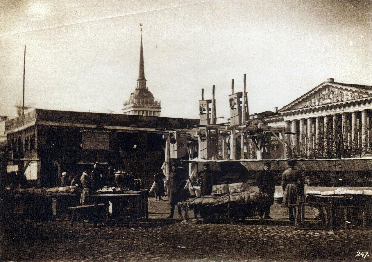 Балаган у Адмиралтейства.1860-е