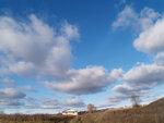 Пейзаж с небом