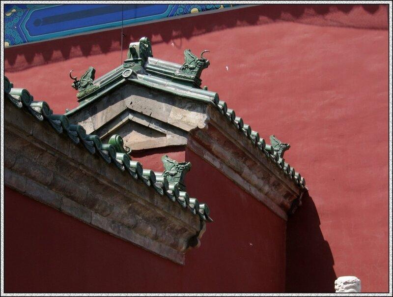 Дворец Воздержания, Храм Неба, Пекин