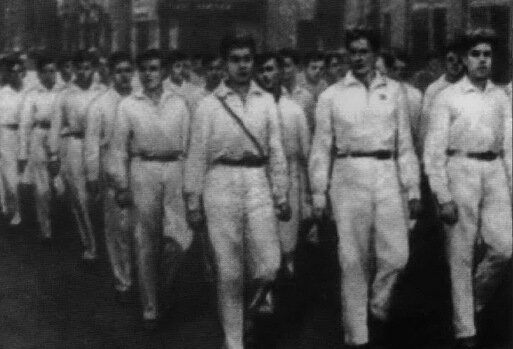 Воспитанники Макаренко - бывшие беспризорные, 30-е годы