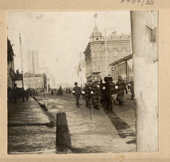 Милиционеры, март 1917 г., Томск