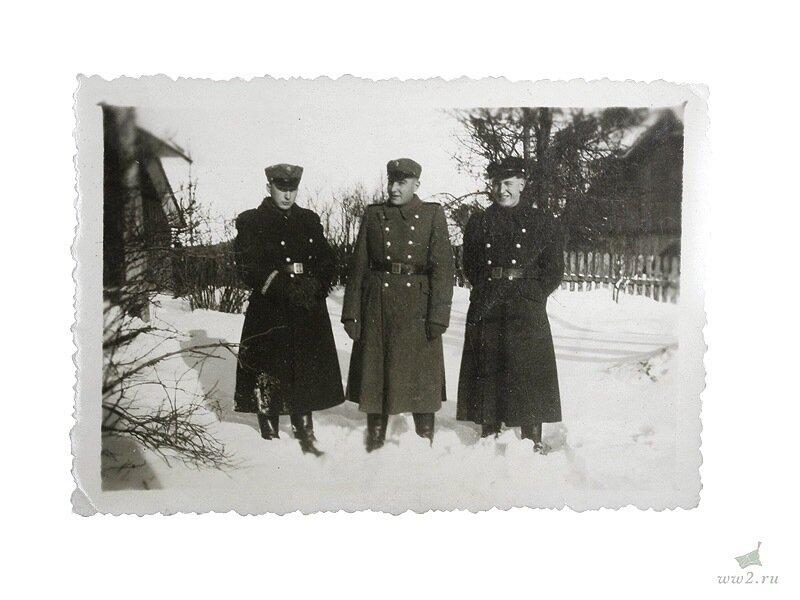 Фотография 3 украинских полицейских, Германия