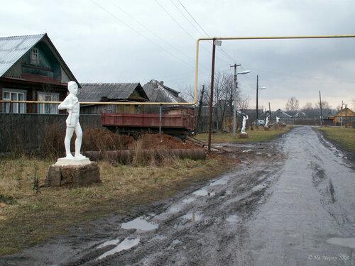 Восстановленные скульптуры (Вичуга)