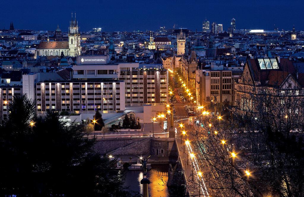 Прага. Панорама города.