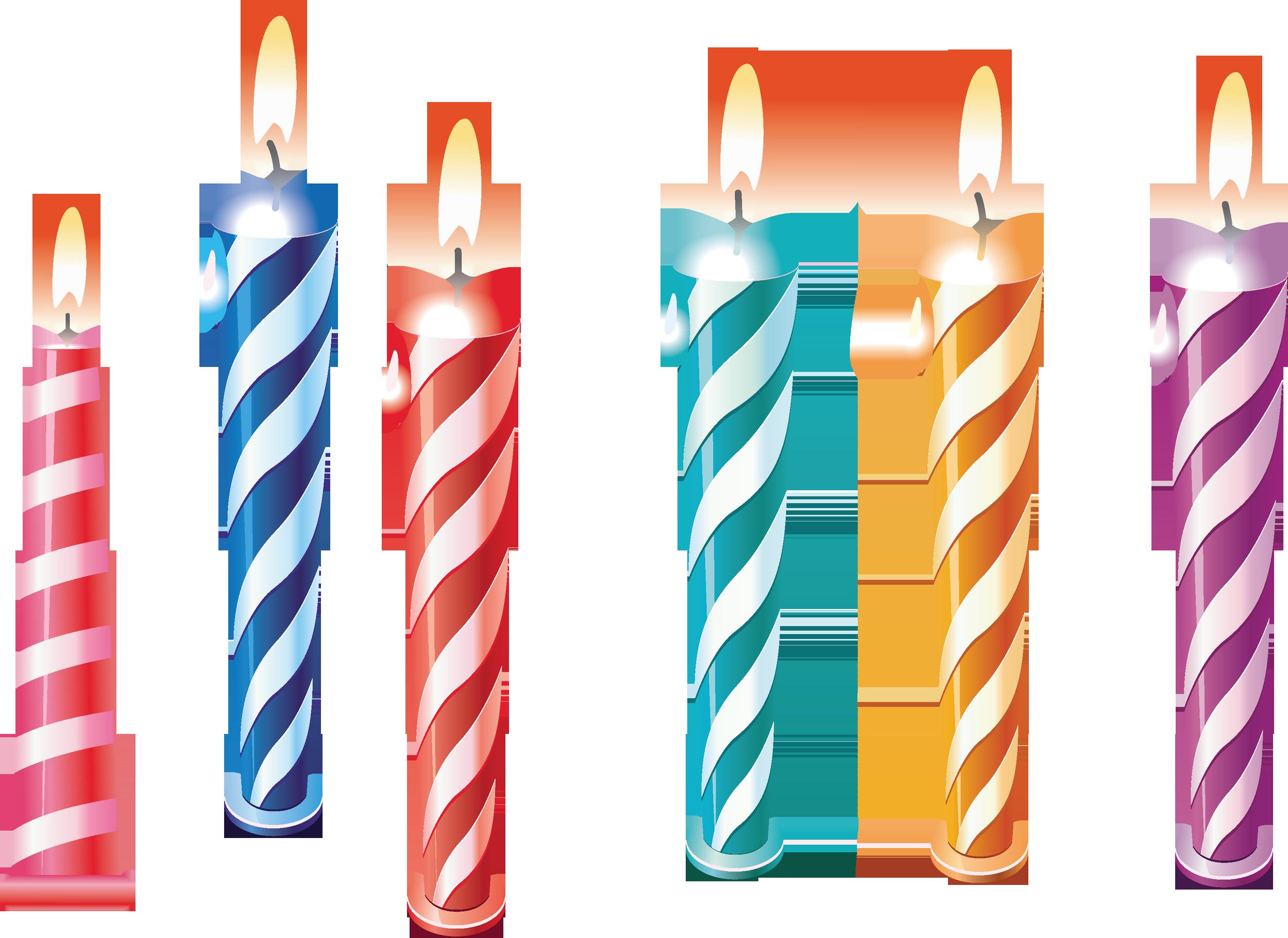 Картинка свечи для торта для детей
