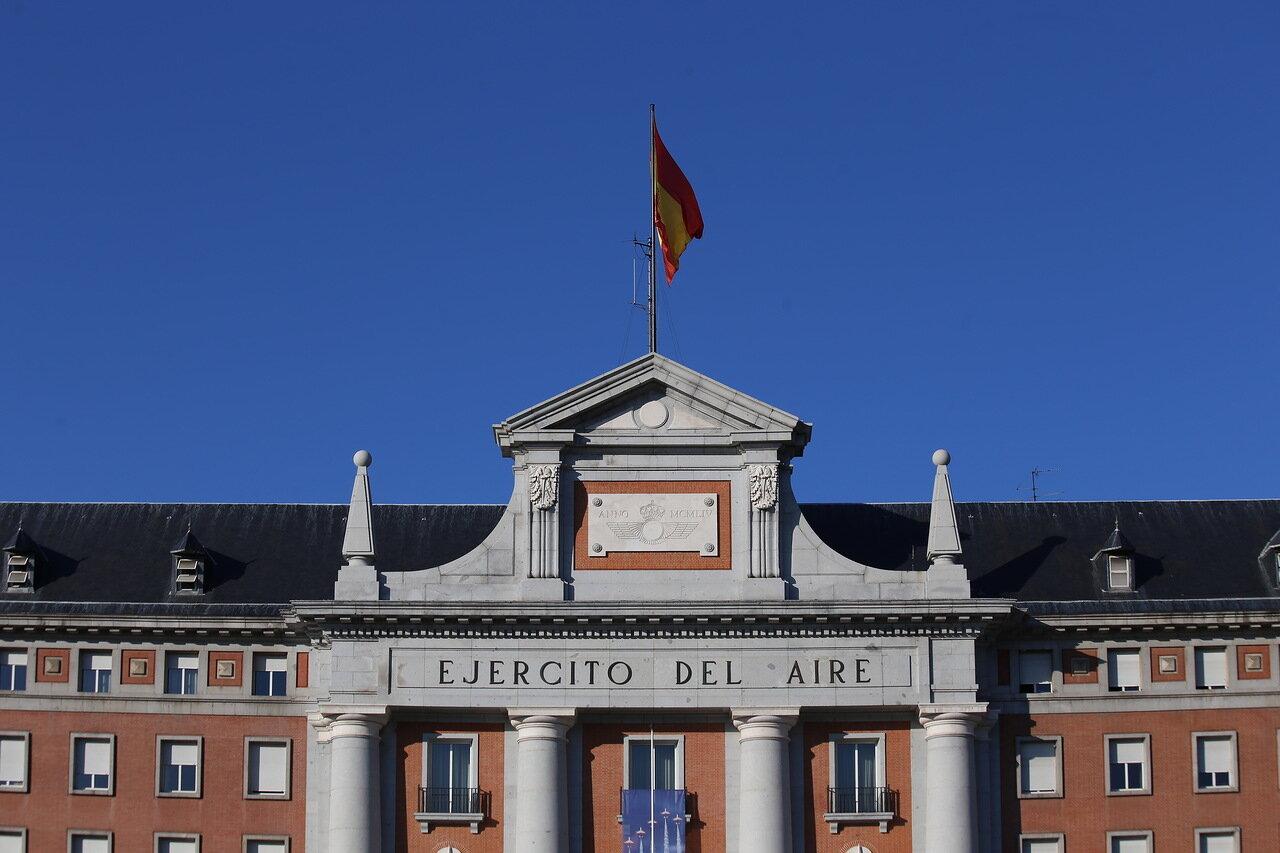 Здание шаба ВВС Испании  (Cuartel General del Ejército del Aire)