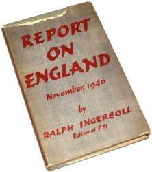Книга Report On England, November 1940