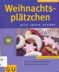 Книга Weihnachtsplätzchen . KüchenRatgeber neu