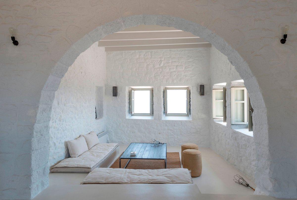 i.landarchitects, Dolihos architects, замок на острове, замок в Греции, реставрация замка, дом в замке, частный дом в замке, замок на берегу моря