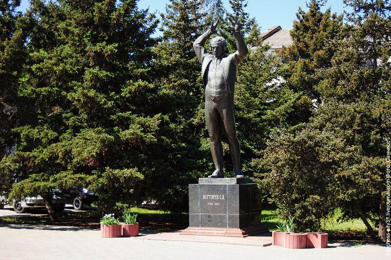 Памятник Степану Дегтяреву, 2013 г.