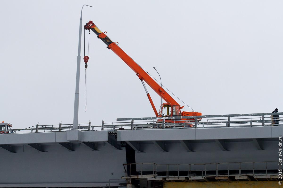 Мостовой переход через судоходный канал в Балаково 11