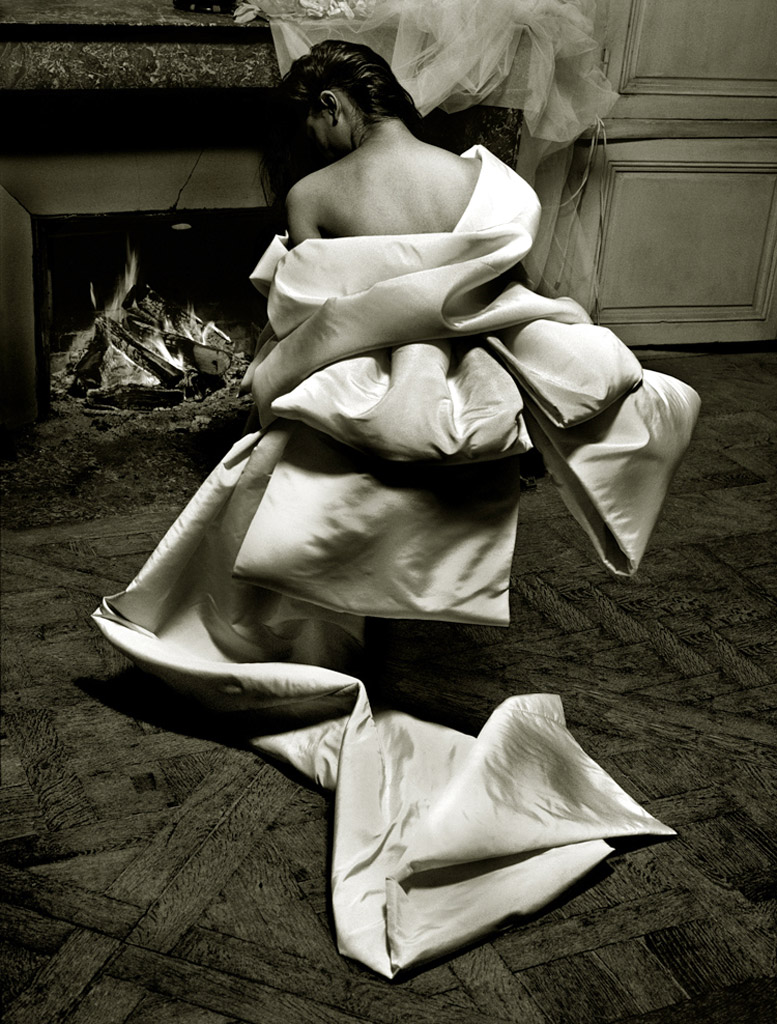 работа фотографа Альберта Уотсона / Sandrine - photo by Albert Watson