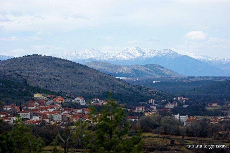 Виды с горы Явлений на окрестности