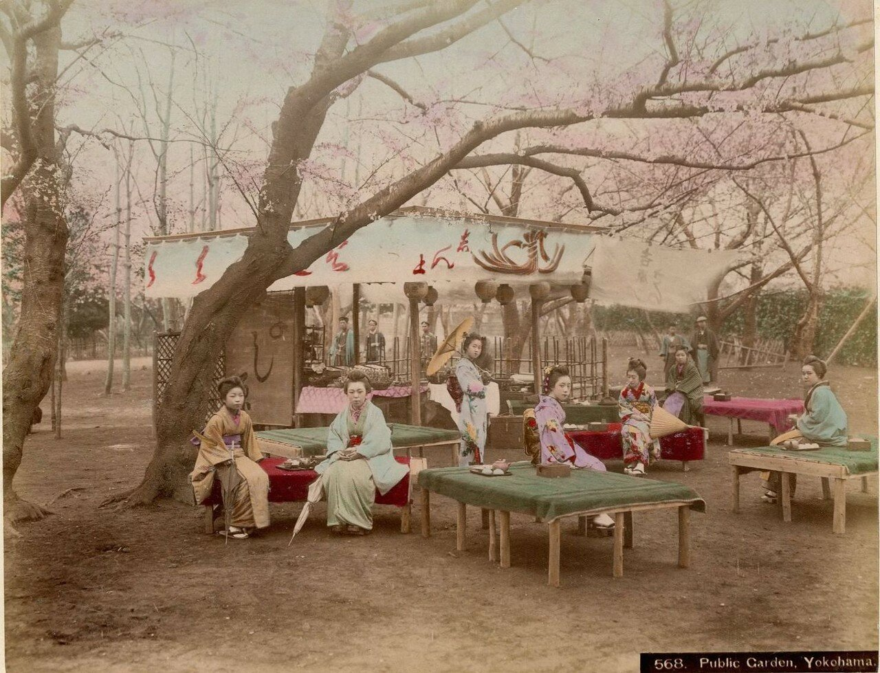 Иокогама. Общественный сад,