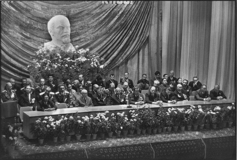 1972. Туркменистан. Ашхабад. Встреча лидеров Коммунистической партии посвященная годовщине Октябрьской революции