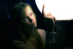 Рита девушка портрет город ночь