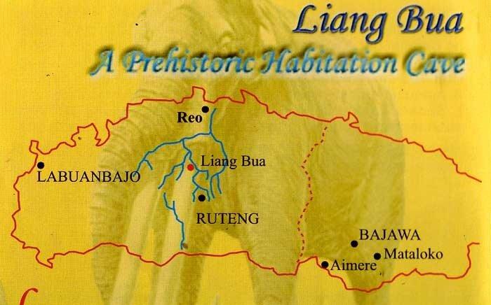 Карта: Liang Bua