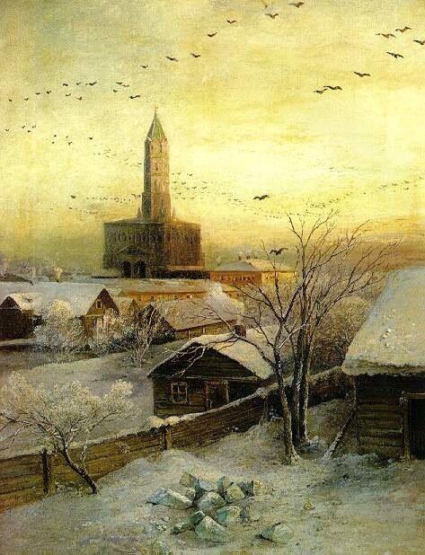 Саврасов. Сухарева башня