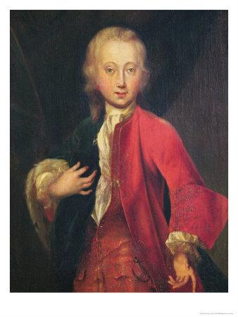 Portrait of Comte Maurice de Saxe Aged Fifteen, circa 1711