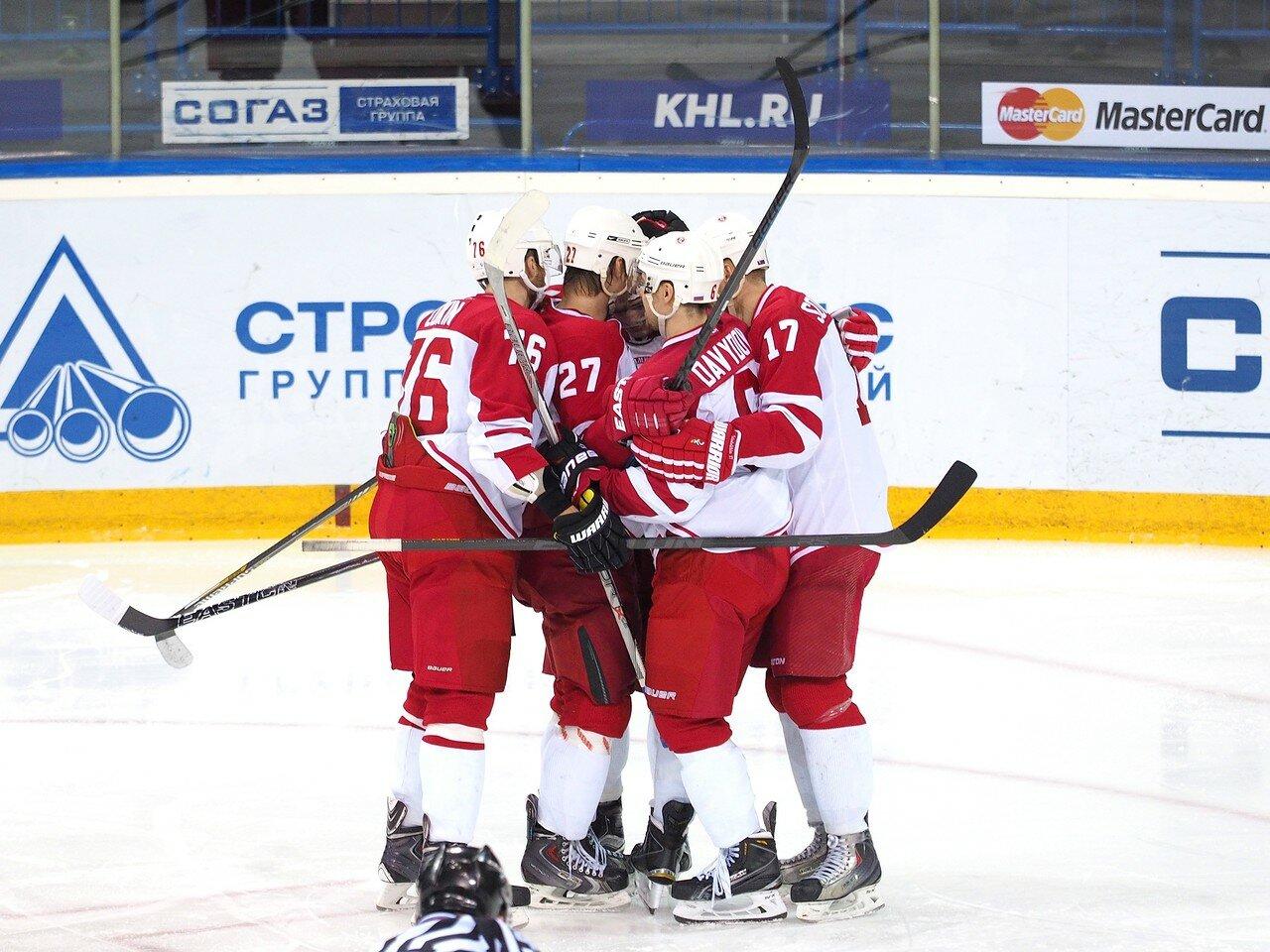 Металлург - Витязь 22.12.2015