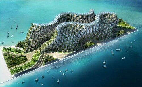Модульные дома в системе Коралловый риф на Гаити