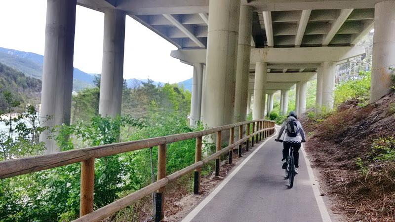 Южный Тироль на велосипеде с севера на юг, майские 2017.