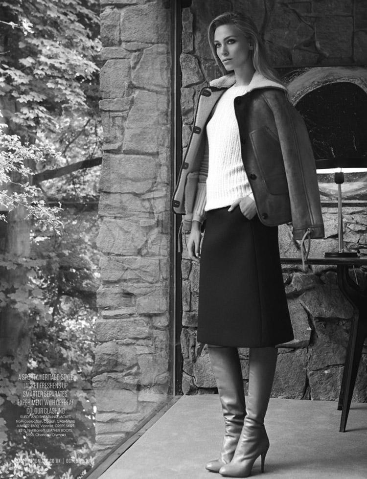 Сюзанна Крзатала (Zuzanna Krzatala) в журнале Red