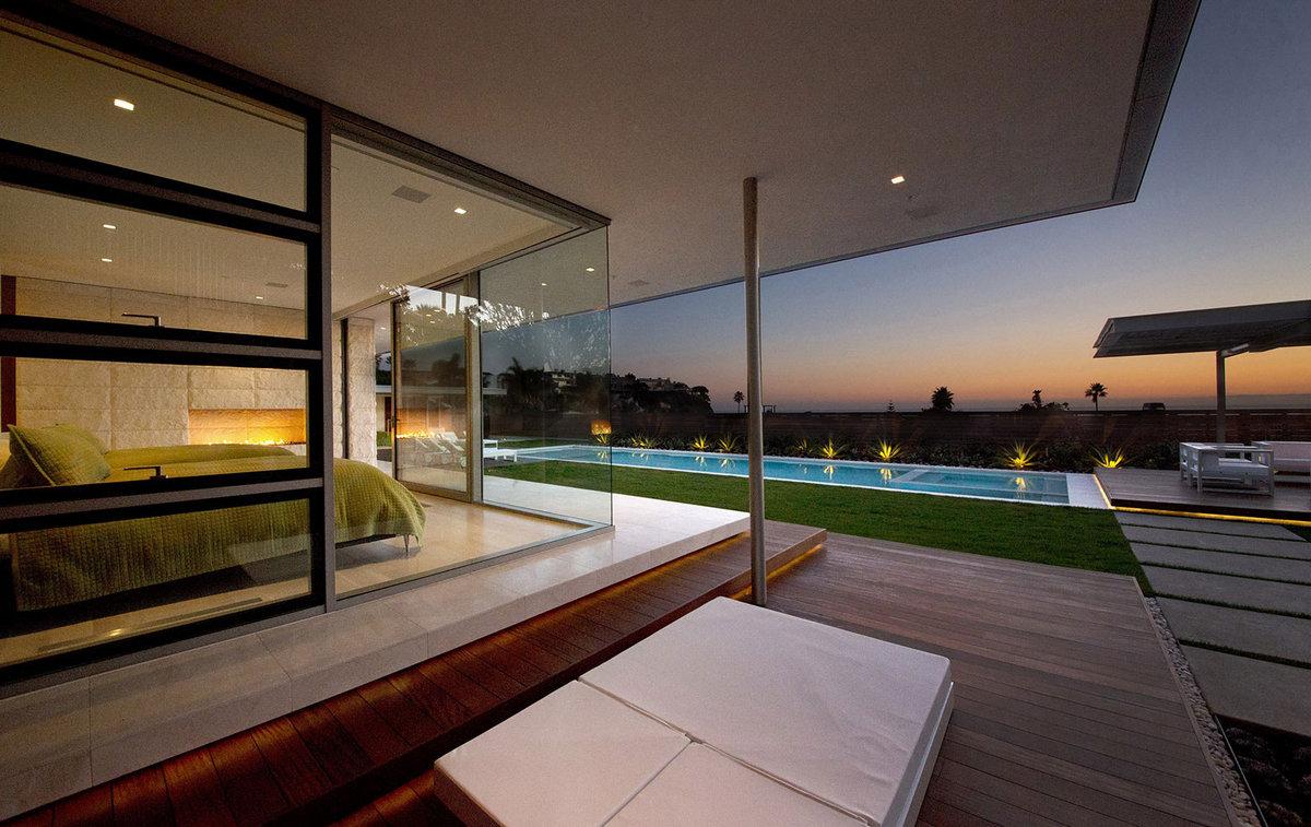 McElroy Residence, Ehrlich Architects, Лагуна-Бич особняки, обзор элитного дома, особняки в Калифорнии, дом на берегу океана, элитная недвижимость США
