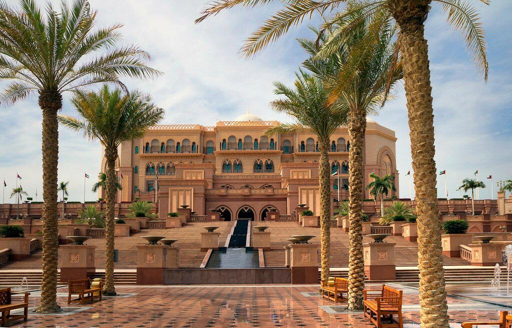 Palace Hotel em Abu Dhabi.