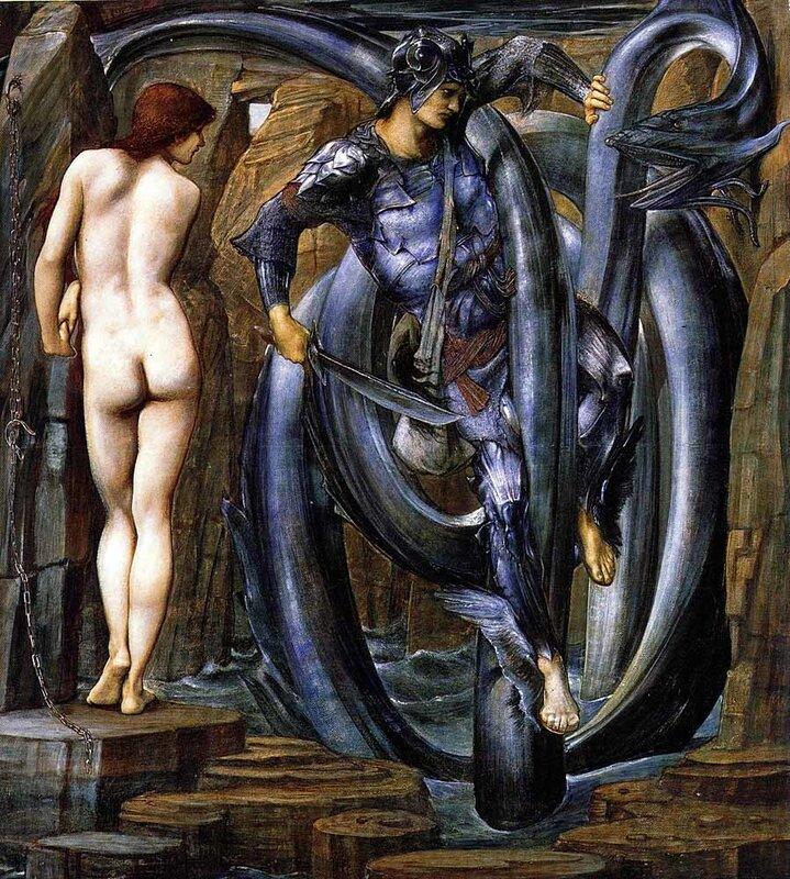 Битва Персея с драконом