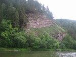 Скала на р Инзер