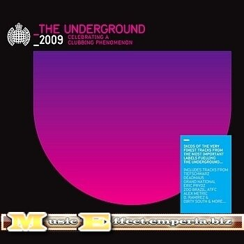 Ministry Of Sound: The Underground 2009 - 3CD (2008)