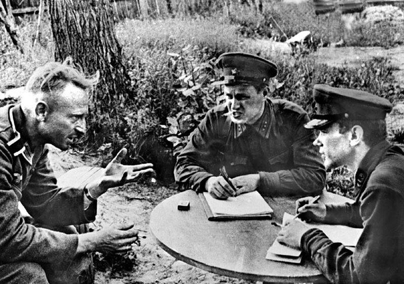 «Красная звезда», 16 июля 1941 года, пленные немцы, немецкие пленные, немцы в советском плену, немецкий солдат