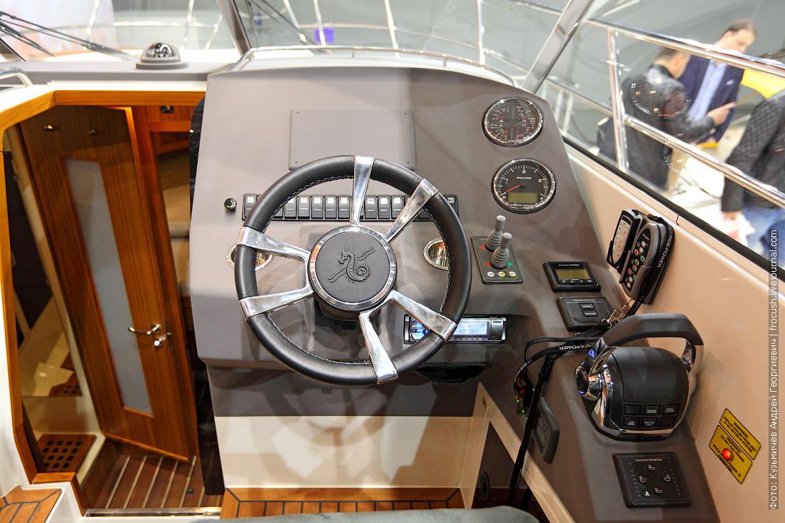 московское боут шоу 2015 Marex 370 Aft Cabin Cruiser