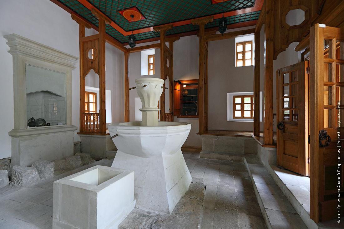Бахчисарай Ханский дворец Мужское отделение Комната отдыха