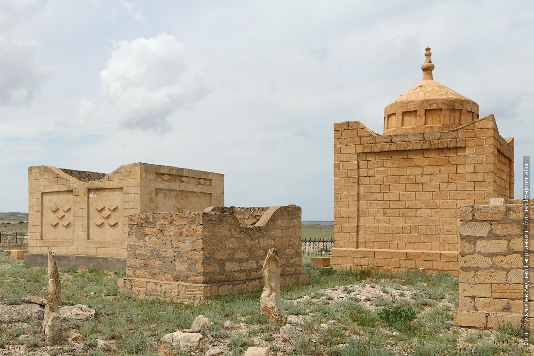 купольный мавзолей кумбезтам