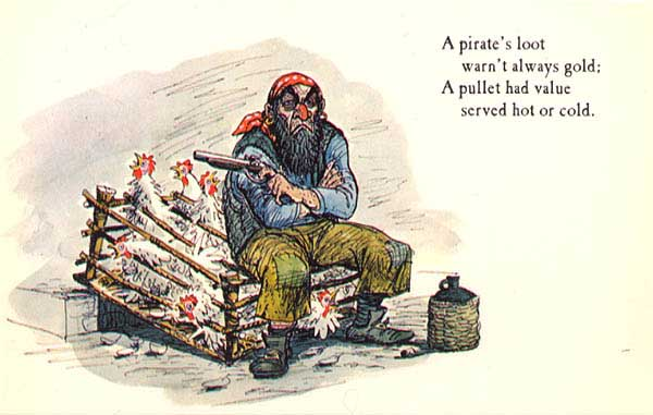"""Рисунки (концепт-арты) к аттракциону """"Пираты Карибского моря""""."""
