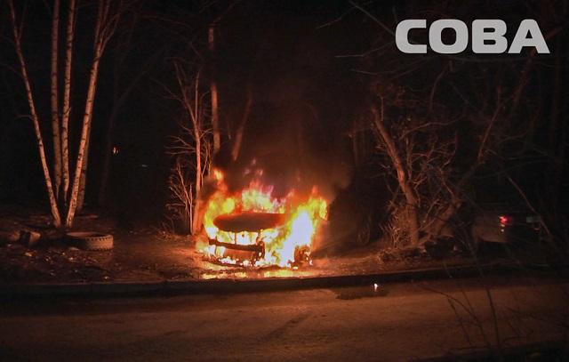 Новый Регион В Екатеринбурге за ночь были сожжены восемь автомобилей