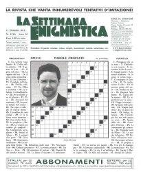 Журнал La Settimana Enigmistica № 4316