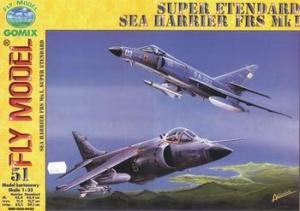 Книга Fly Model №51 - Super Etendard & Sea Harrier FRS Mk.I