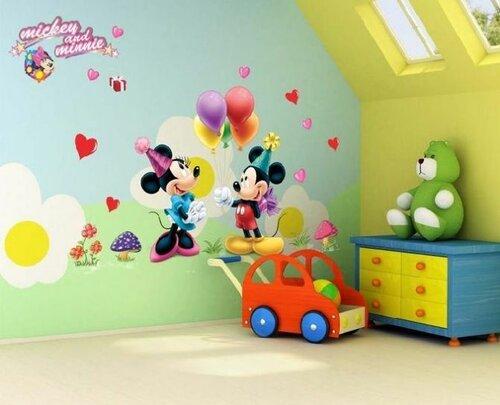 Дизайн детской комнаты в сказочном стиле