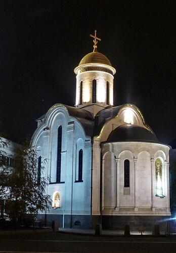 Церковь Серафима Саровского в Экспоцентре